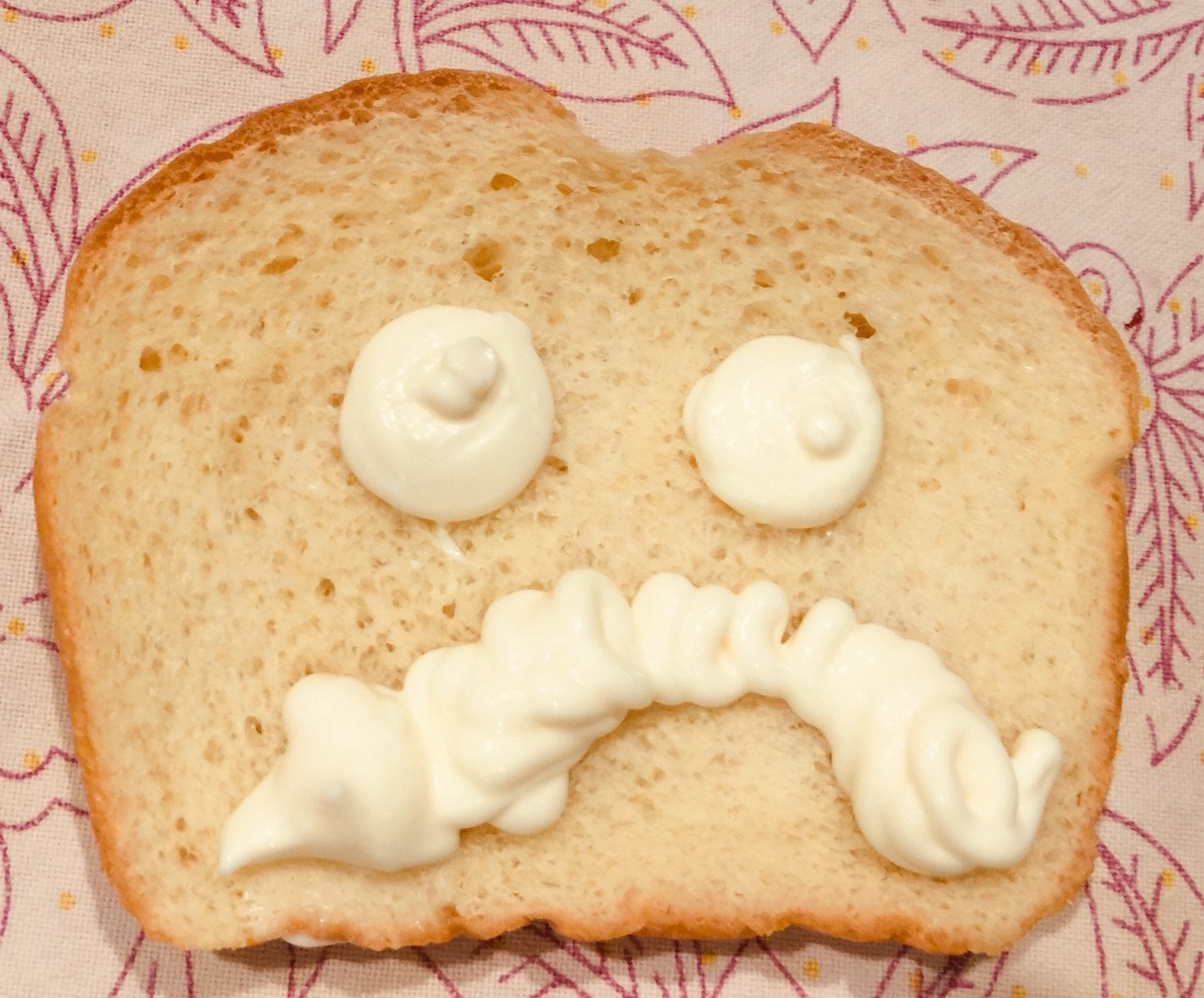 Angry white bread