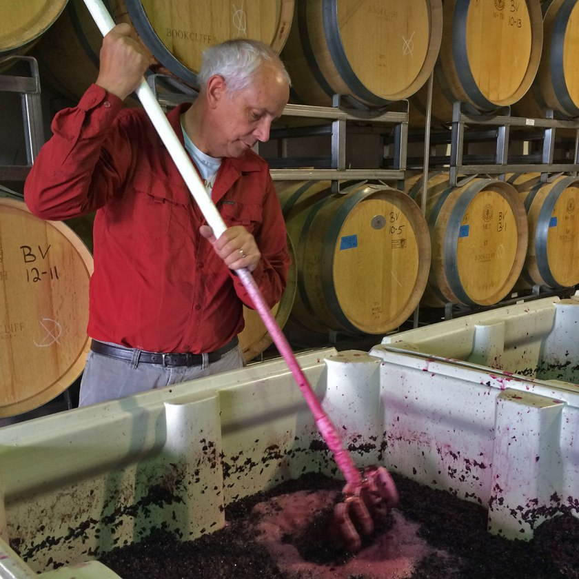 bookcliff-vineyards-wine-punch-down